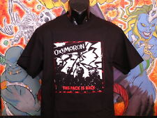 """Oxymoron """"The Pack is Back"""" shirt Casualties Black Flag The Virus Unseen Punk Oi"""