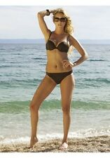 High Quality Push Up Bikini Bathing Suit Lisca in Brown Size. 42 Cup B New &