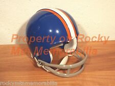 Denver Broncos 1967 Throwback Custom Mini Helmet w/ 2-Bar Facemask