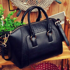 Fashion Tote Women's PU Leather Tote Handbag Lock Shoulder Bag Satchel Argyle