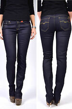 Replay Jeans Wx648 Vicky Rinse 07 Coupe Straight-Leg Mi Hausse Nouvelle