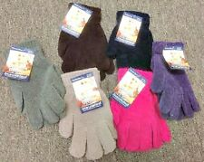 WOMEN'S INSULATED THERMO WEAR CHENILLE GLOVES - ONE SIZE FITS MOST