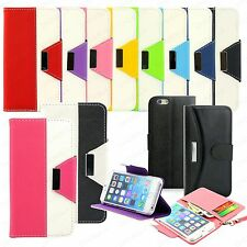 For iPhone 6 Wallet Case 4.7 iPhone 6 Plus 5.5 Leather Flip Cover Credit Card