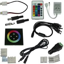 Accessory for LED strips: connectors, controller, distributors, extension cables