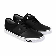 Puma Mens El Ace Core+ Black Synthetic Lace Up Sneakers Shoes