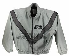 Army  PT Jacket Used PFU Reflective Physical Fitness Uniform Jacket