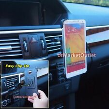 Car/SUV Dash Air Vent Clip-On Phone Mount For Samsung Galaxy Note 2 3 4/S3 S4 S5