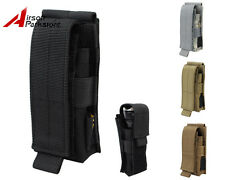 ROGISI Tactical Military Airsoft 1000D Molle Utility Tools Flashlight Pouch Bag