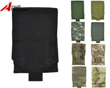 Tactical Military Outdoor 1000D Camo Molle Administrative & Cellphone Pouch Bag