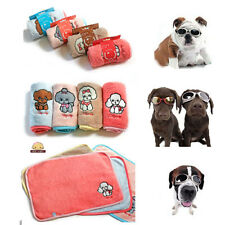 """Pet Dog Cat Puppy Blanket Bed Mat House Pad Cover Teddy Embroider 23.62x19.69"""""""