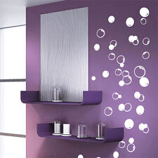 58 Bubbles Bathroom Window Shower Tile Wall Stickers Wall Decals Car Decals