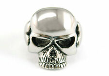 Mens Gothic Skull Head Stainless Steel Men Ring MR032