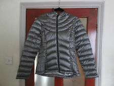 LADIES ANDREW MARC OF NEW YORK FEATHER & DOWN JACKET SILVER SM, MED, LGE, X LGE