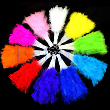 Phantom Party Supplies Feather Fluffy Hand Fan Fancy Elegant Props 10 Colors New