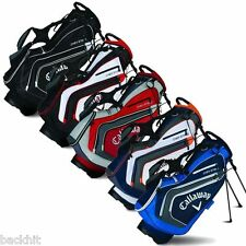 New - Callaway Golf 2015 Chev Mens Stand Carry Bag - 7 Way Divider