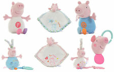 Peppa Pig Nursery Collection Baby Soft Toys - Choose your design