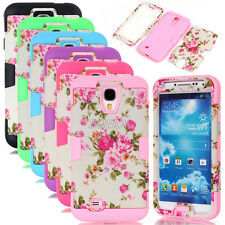 Peony Floral Painted Rugged Matte Combo Cases Cover For Samsung Galaxy S4 S IV
