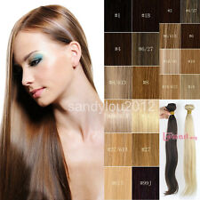 100% Indian Remy Human Hair Weft Extensions Straight Hair Piece 100g/Bundle