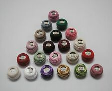 1 - 10g (87yds) DMC Pearl Cotton Balls 8(Art.116)- Ideal for Creative Stitchery