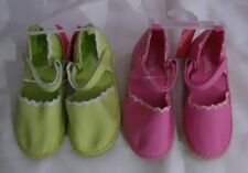 Gymboree FRESHLY PICKED Choose Pink or Green Espadrilles Shoes NWT 10 11 12 13