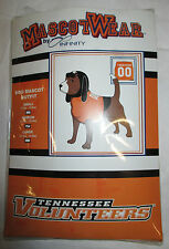 Tennessee Volunteers Dog Mascot Outfit     3 Sizes Available!!