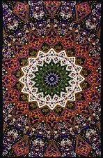 3D Purple Star Indian Tapestry Cool Wall Hanging Table Cloth - FREE 3-D GLASSES