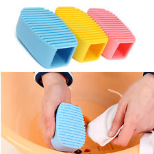 Silicone Cleaning Cosmetic Makeup Brush Cleaner Glove Scrubber Tool Foundation
