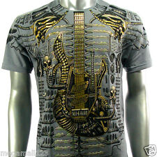 Artful Couture T-Shirt Sz M L XL XXL Guitar Music Rock Tattoo Punk Skate AG32 D1