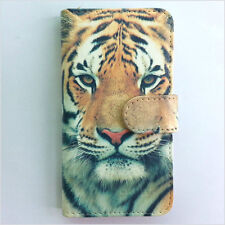 Brand new Yellow tiger wallet Flip case cover for Samsung/iphone/Nokia/HTC