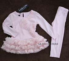 NWT ISOBELLA & CHLOE BOUTIQUE PINK GIRLS SPECIAL OCCASION EASTER OUTFIT 2T 4T