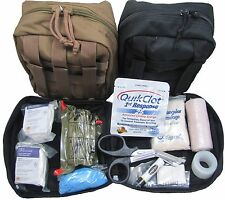 US Military IFAK Kit FA187 in Black Tan ACU or OD Green by Elite First Aid Inc
