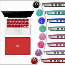 Rubberized Hard Matte Laptop Shell Case Cover For Macbook Pro 13 Inch Air 13.3""
