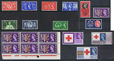 1953 to 1967 Flowers Commemorative Ordinary Sets MOUNTED MINT. Choice of Sets.