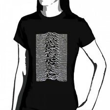 OFFICIAL Joy Division - Unknown pleasures women's T-shirt NEW LICENSED Band Merc