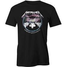Metallica - Master of Puppets Distressed Circle Logo T-shirt OFFICIAL Licensed B