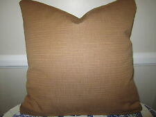 Gorgeous Pierre Deux Pillow Chestnut Brown French Country Upholstery