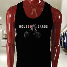 TV Show  House of Cards Mens Black Tank Top