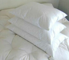 100% White Hungarian Goose Down Pillows 600 Fill Power No Feather Stems  USA