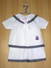 BABY / BOY's SAILOR OUTFIT, White Cotton, Wedding, Christening,Age 0-6 Years Old