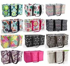 NEW Thirty one gift LARGE UTILITY tote Laundry Basket beach Bag 31 Best Buds mor