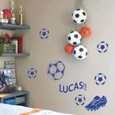 Personalized Fuß Ball Name Kinder Kunst Wand Sticker Quote/ Wand Sticker
