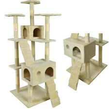 "New 73"" Cat Tree Scratcher Play House Condo Furniture Toy Bed Post Pet House 90"