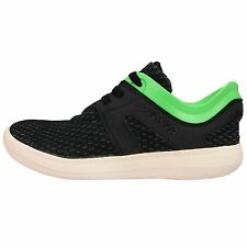 Adidas Adissage Recovery Black Green White Mens Cross Training Shoes