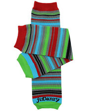 Organic Sprightly Stripe Leg Warmers Newborn Infant and Baby Toddler Sizes Boy