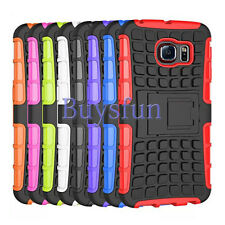 Kickstand Hybrid Rugged Hard Case Cover For Samsung Galaxy Note 4