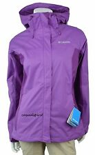 NEW Womens COLUMBIA Arcadia waterproof hooded rain jacket PLUS 1X 2X 3X