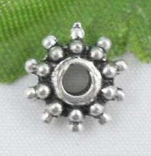 Wholesale 57/125Pcs Tibetan Silver  Spacer Beads 9x3mm(Lead-free)