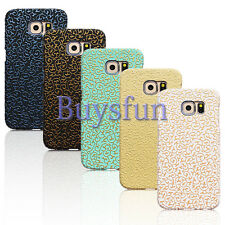 Carved Flower Floral Hard Cover Case For Samsung Galaxy S6 GS6