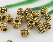 Wholesale 189/410Pcs Tibetan Gold  Spacer Beads 4mm(Lead-free)