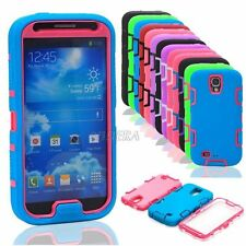 Armor Hybrid Heavy Duty Shockproof Dirt Proof Hard Case Cover for Galaxy S4 S IV